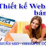 Thiết kế website bán hàng online chuẩn seo dễ lên top google