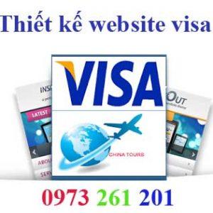Thiết Kế Website Làm Visa Chuyên Nghiệp Uy Tín Chất Lượng