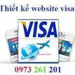Thiết kế website làm visa chuẩn seo uy tín chất lượng