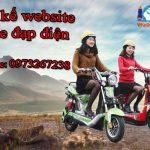 Thiết Kế Website Xe đạp điện Uy Tín Chuyên Nghiệp Hiệu Quả.