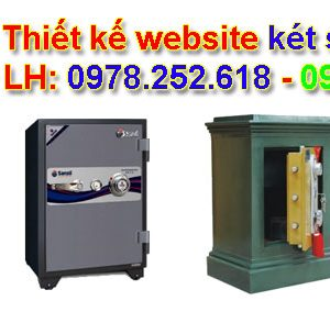 Thiết Kế Website Bán Két Sắt