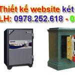 Thiết kế website bán két sắt chuyên nghiệp bởi cao thủ SEO