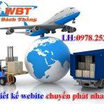 Thiết Kế Website Chuyển Phát Nhanh