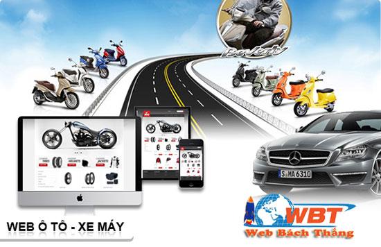 thiết kế website dịch vụ cho thuê xe