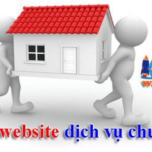 Thiết Kế Website Dịch Vụ Chuyển Nhà Trọn Gói