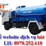 Thiết kế website dịch vụ hút bể phốt chuyên nghiệp