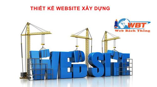 thiết kế website công ty xây dựng chuyên nghiệp