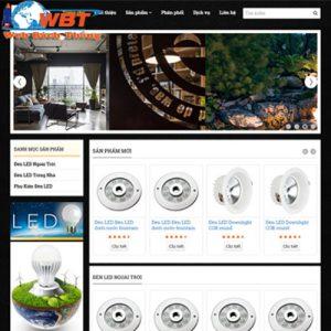 Demo Thiết Kế Website Bán đèn Led