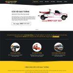 Thiết kế website dịch vụ cứu hộ xe ô tô 24/7 nhanh chóng & chuyên nghiệp