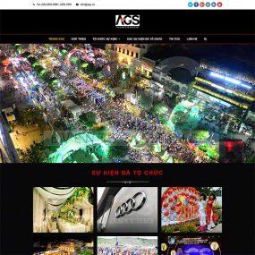 Mẫu Website Dịch Vụ Tổ Chức Sự Kiện WBT1049