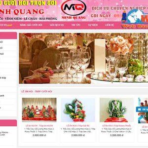Thiết Kế Website Dịch Vụ Cưới Hỏi