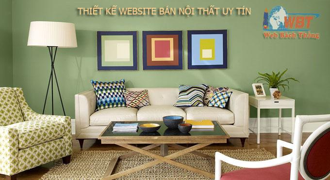 công ty thiết kế web bán bàn ghế sofa uy tín