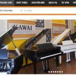 Thiết Kế Website Bán đàn Ghita, Piano Chuyên Nghiệp Giá Thành Tốt Nhất