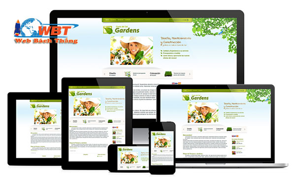 thiết kế website tại Mỹ Đức Chuẩn di động