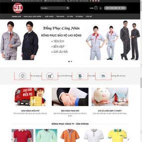 Mẫu Website May đo đồng Phục Công Ty – Trường Học WBT1061