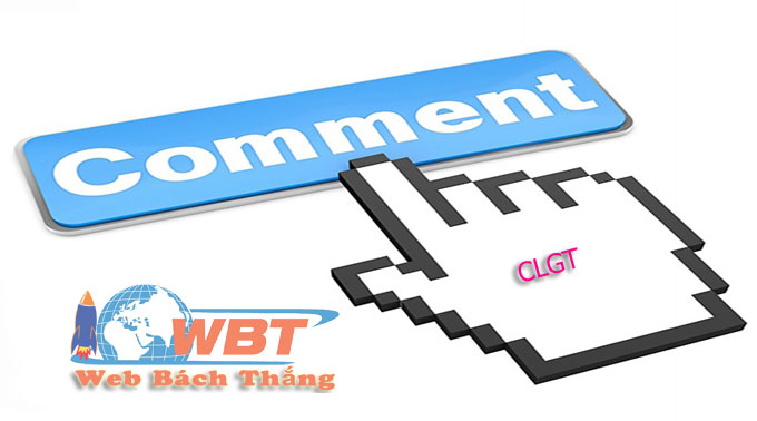 bạn thử comment clgt xem