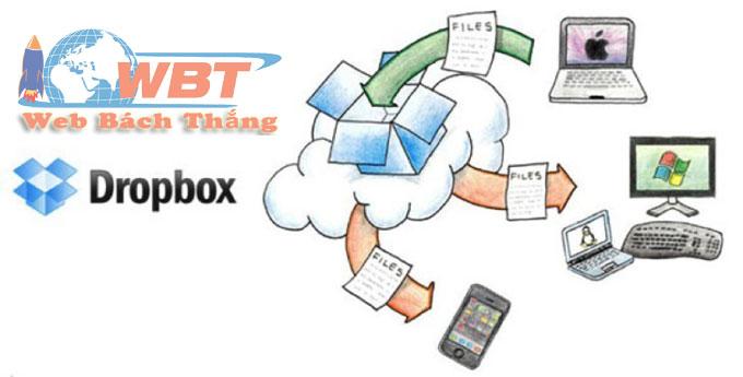 công cụ lưu trữ đám mây dropbox
