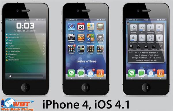 hệ điều hành iOS 4 là gì ?