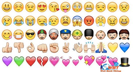 icon biểu tượng cảm xúc