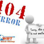 Lỗi 404 Là Gì? Cách Khắc Phục Lỗi Dành Cho Người Dùng Là Gì?