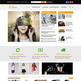 Mẫu Website Shop Công Nghệ – Điện Máy WBT1070