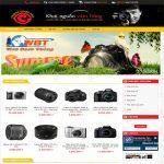 Thiết kế website mua bán máy ảnh chuyên nghiệp chất lượng chuẩn SEO