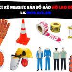 Thiết Kế Website Bán đồ Bảo Hộ Lao động Chuyên Nghiệp