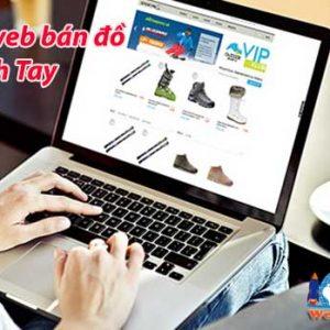 Thiết Kế Website Bán đồ Xách Tay