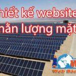 Thiết Kế Website Bán Máy Năng Lượng Mặt Trời Chuyên Nghiệp