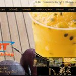 Thiết Kế Website Bán Trà Sữa