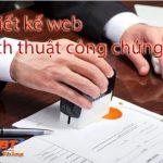 Thiết kế website dịch thuật công chứng chuyên nghiệp nhất
