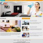 Thiết kế website dịch vụ giúp việc chuyên nghiệp hiệu quả nhất