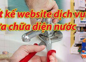 Thiết Kế Website Dịch Vụ điện Nước
