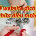 Thiết Kế Website Dịch Vụ điện Nước Hiệu Quả Giá Rẻ