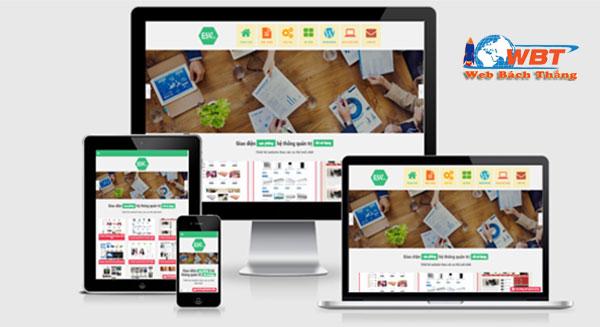 Thiết kế website sàn gỗ