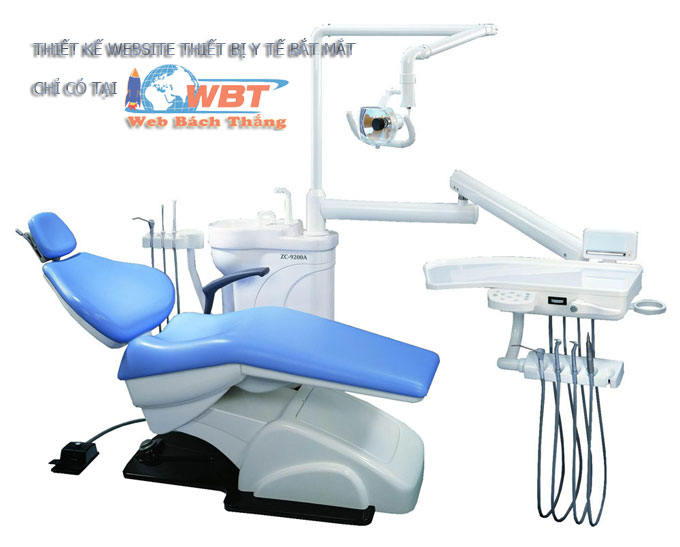 thiết kế website bán thiết bị y tế