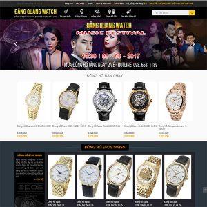 Mẫu Website đồng Hồ Cao Cấp Chính Hãng Đăng Quang Watch WBT1084