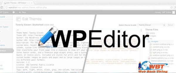 Plugin WP Editor