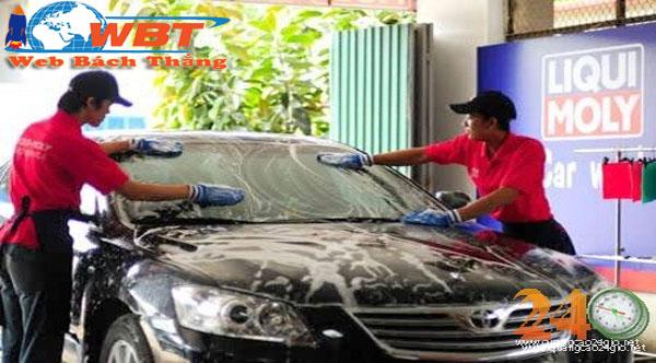 thiết kế website dịch vụ chăm sóc xe hơi
