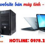 Thiết Kế Website Bán Máy Tính Laptop Giá Rẻ Chuẩn SEO.