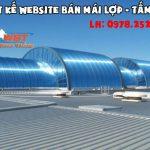 Thiết Kế Website Bán Tấm Lợp - Mái Tôn - Fibro Xi Măng