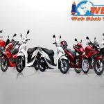 Thiết kế website bán xe máy đẹp giá rẻ chuẩn seo