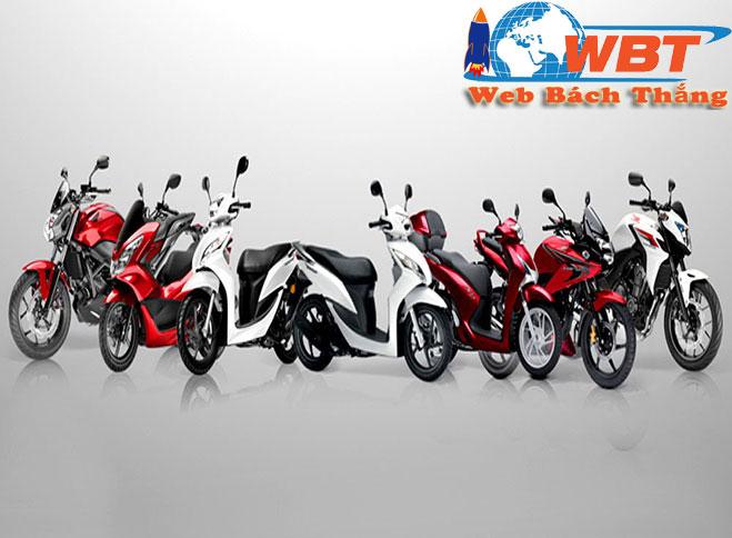Thiết kế website bán xe máy chuẩn seo
