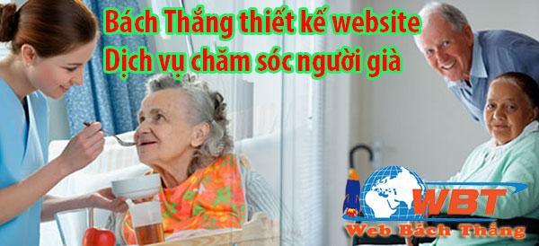 thiết kế website chăm sóc người cao tuổi