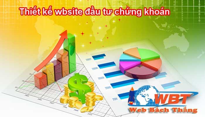 Thiết kế website chứng khoán