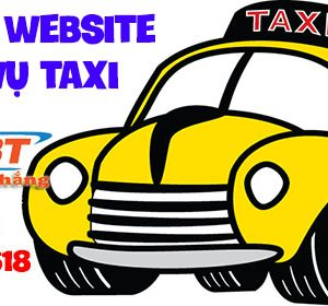 Thiết Kế Website Dịch Vụ Taxi