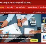 Thiết Kế Website Dịch Vụ Kế Toán Chuẩn Seo Chuyên Nghiệp Nhất