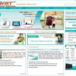 Thiết Kế Website Ngân Hàng