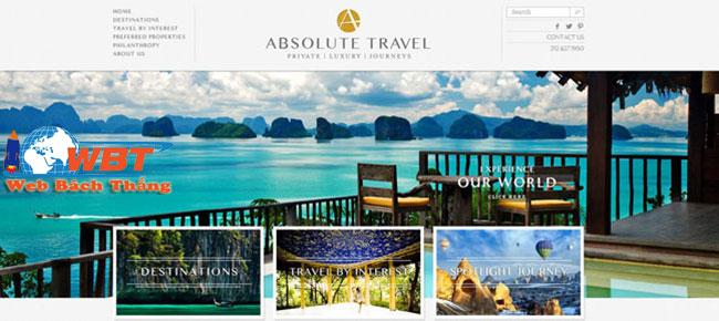 Thiết kế website resort