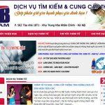 Thiết Kế Website Dịch Vụ Thám Tử Chuyên Nghiệp Hiện đại Nhất